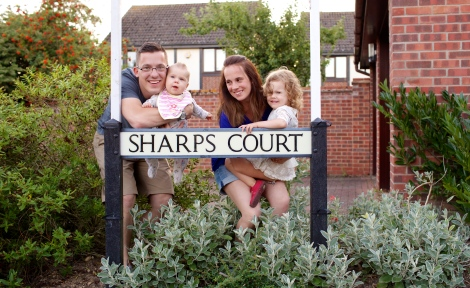 Sharps Court, Our English Home