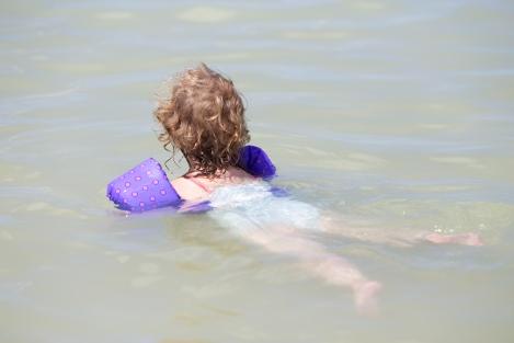 Eden 'swimming'
