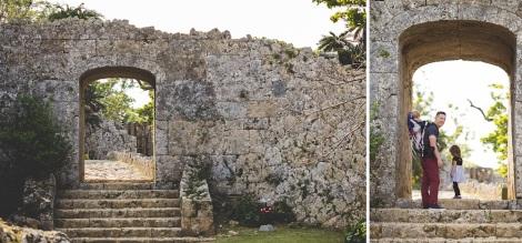 Rear gate of Nakagusuku Castle