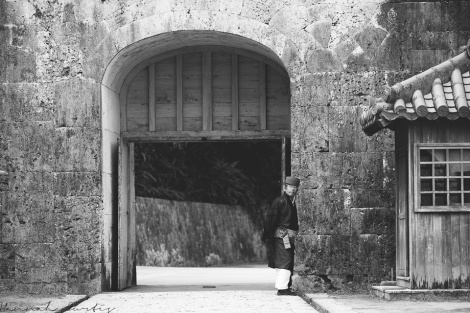 Kankaimon Gate; the front gate of Shurijo Castle