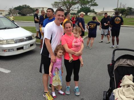 5k Chief Petty Officer birthday run (26.37) Mar 2014