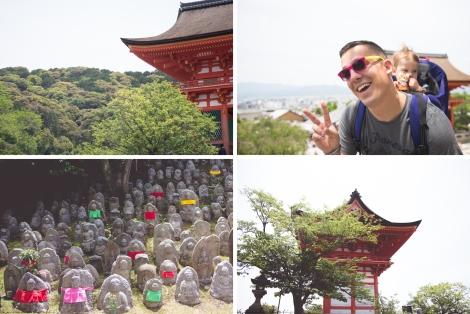 at Kiyomizu-dera