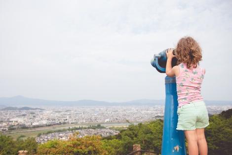 Eden overlooking Kyoto