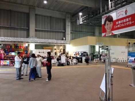 Inside Naha's LCC terminal