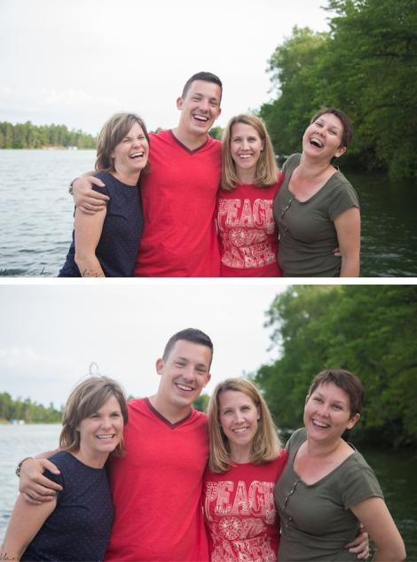 Matt & his sisters