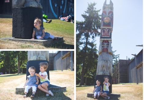 Clio loved playing around this totem pole