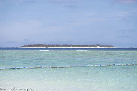 View of another island from Sesoko Beach