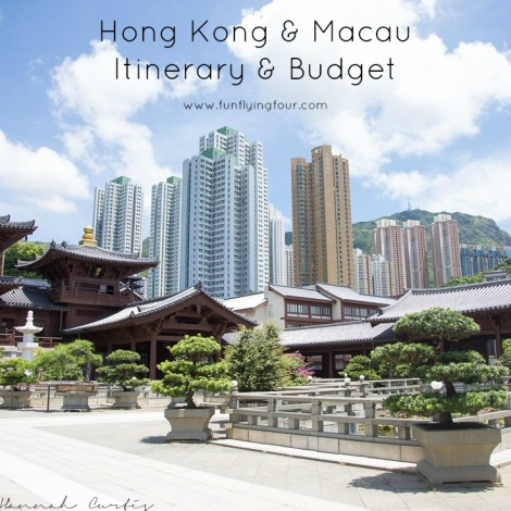 Fun Flying Four Hong Kong Itinerary and Budget (1 of 1)