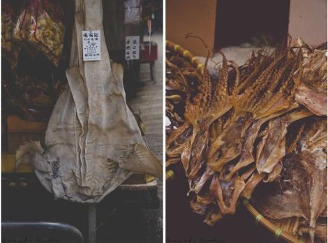 some of the many dried fish (photos courtesy of Matt!)