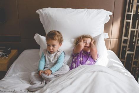 The girls loved sleeping in the same room....Matt & I weren't fans!