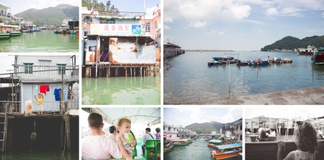 some of the sites of Tai O