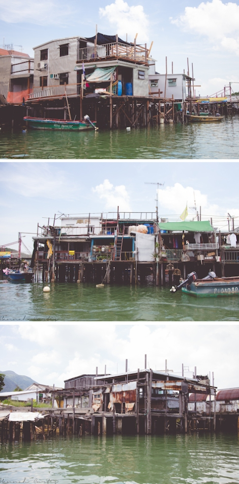 Hong Kong Tai O Stilt Houses