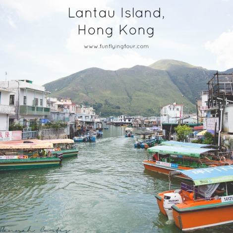 Fun Flying Four Lantau Island
