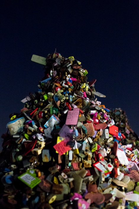 N Seoul Tower Love Locks