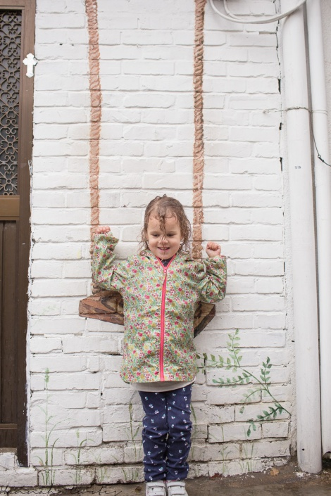 and on the swing!