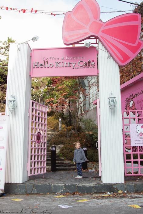 FINALLY found Hello Kitty Cafe