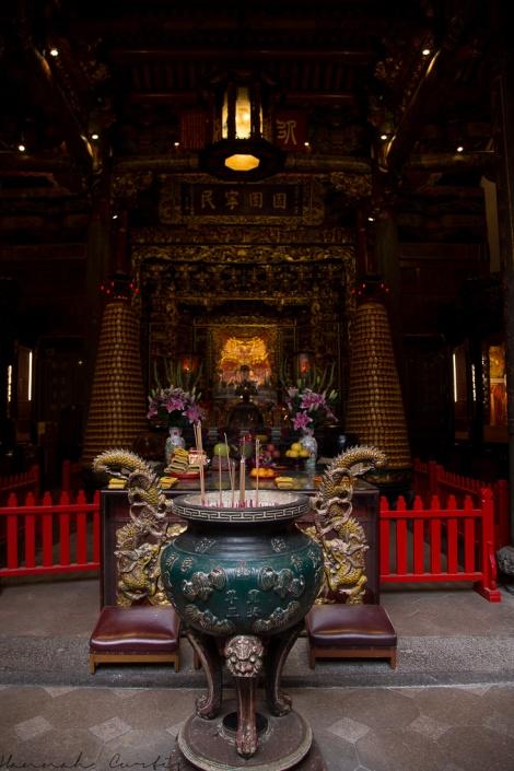 inside Qingshan Temple