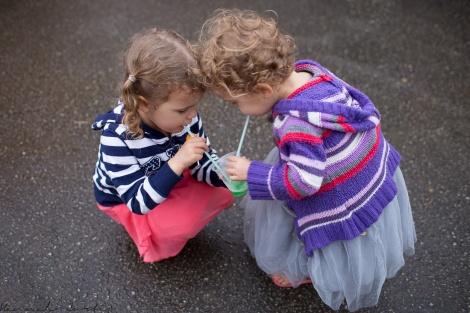 sharing their slushy