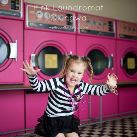 Fun Flying Four Pink Laundromat Okinawa  (1 of 1)