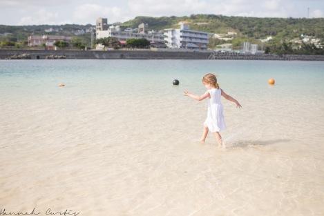 DAY 15 | Eden enjoying the beach on Ojima Island