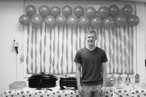 Day 55 | our nephew/cousin at his graduation party