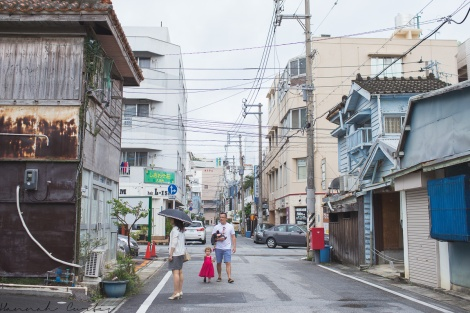 Day 84 | walking some back streets in Naha, Okinawa