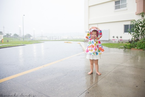 Day 67 | teaching Clio to dance in the rain...it is rainy season after all