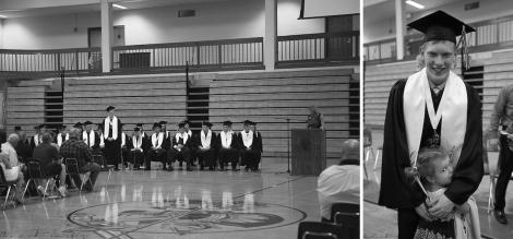 M's graduation