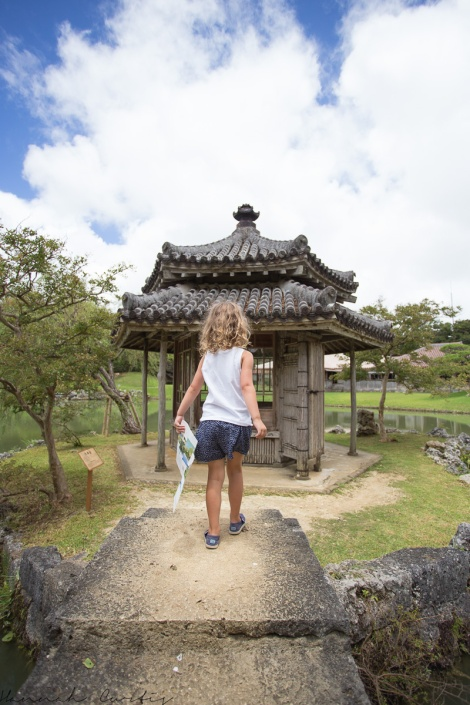 day 126 | navigating her way around the Shikinaen Royal Gardens, Naha