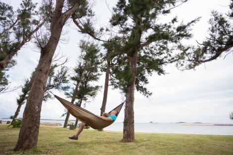 hammock in action