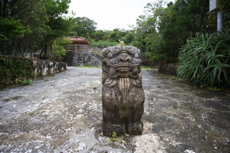 Shisa protecting this public area