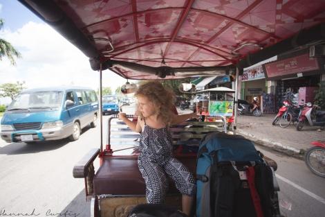 day 162 | tuk tuk ride to our hotel, Phnom Penh, Cambodia