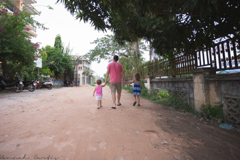day 168 | walking some back roads, Siem Reap, Cambodia