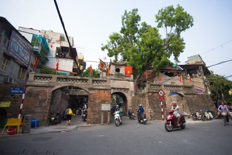 The Old City Gate, Hanoi Old Quarter