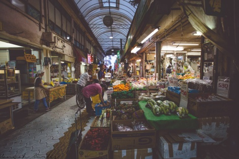 day 203 | at the markets in Naha (on the Scott Kelby Photo Walk)