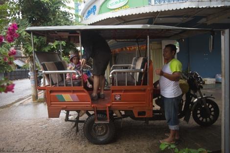 another tuktuk ride!