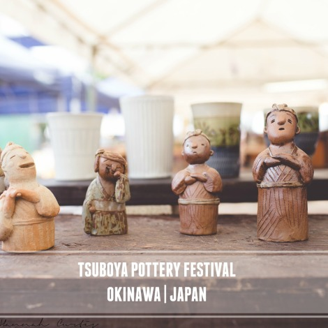Fun Flying Four Tsuboya Pottery Festival 1 Okinawa-1