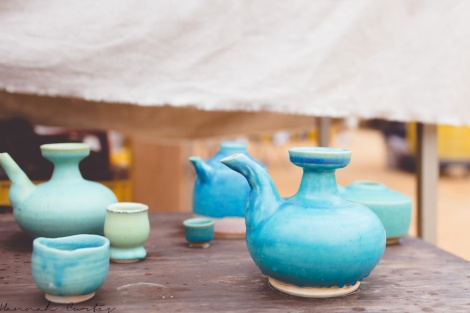 Fun Flying Four Tsuboya Pottery Festival Okinawa-4