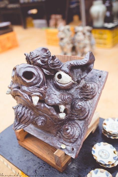 Fun Flying Four Tsuboya Pottery Festival Okinawa-7