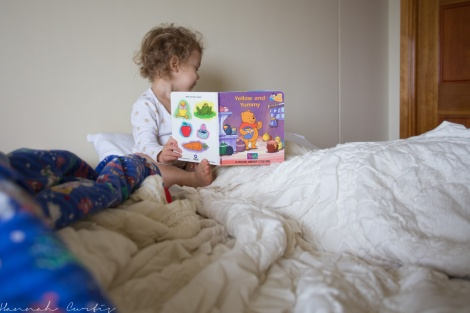 day 233 | we don't do bedtime stories these days, instead its wakeup stories