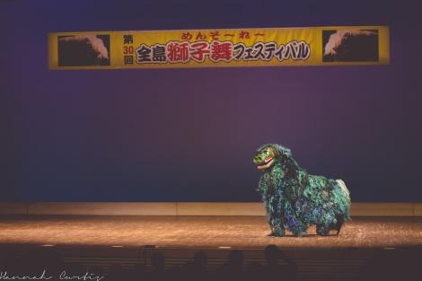 Fun Flying Four Shishimai Festival Okinawa-7