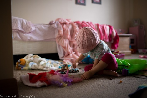 day 294 | contributing to the mess in Eden's room