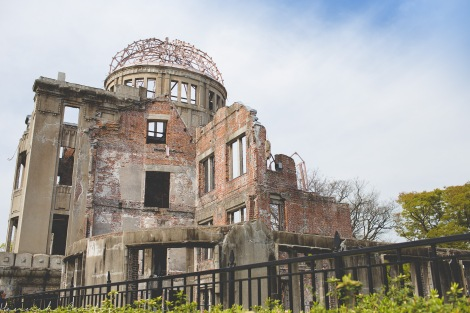 Genbaku Domu or Atomic Bomb Dome
