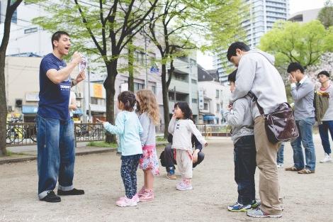 Fun Flying Four Kids Travel Japan Osaka-4