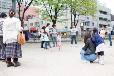 Fun Flying Four Kids Travel Japan Osaka-5