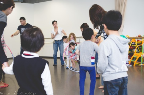 another fun game at the ballet studio