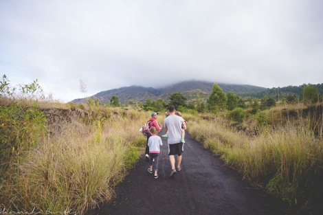 day 35 | the start of our hike up a volcano, Mt Batur, Bali