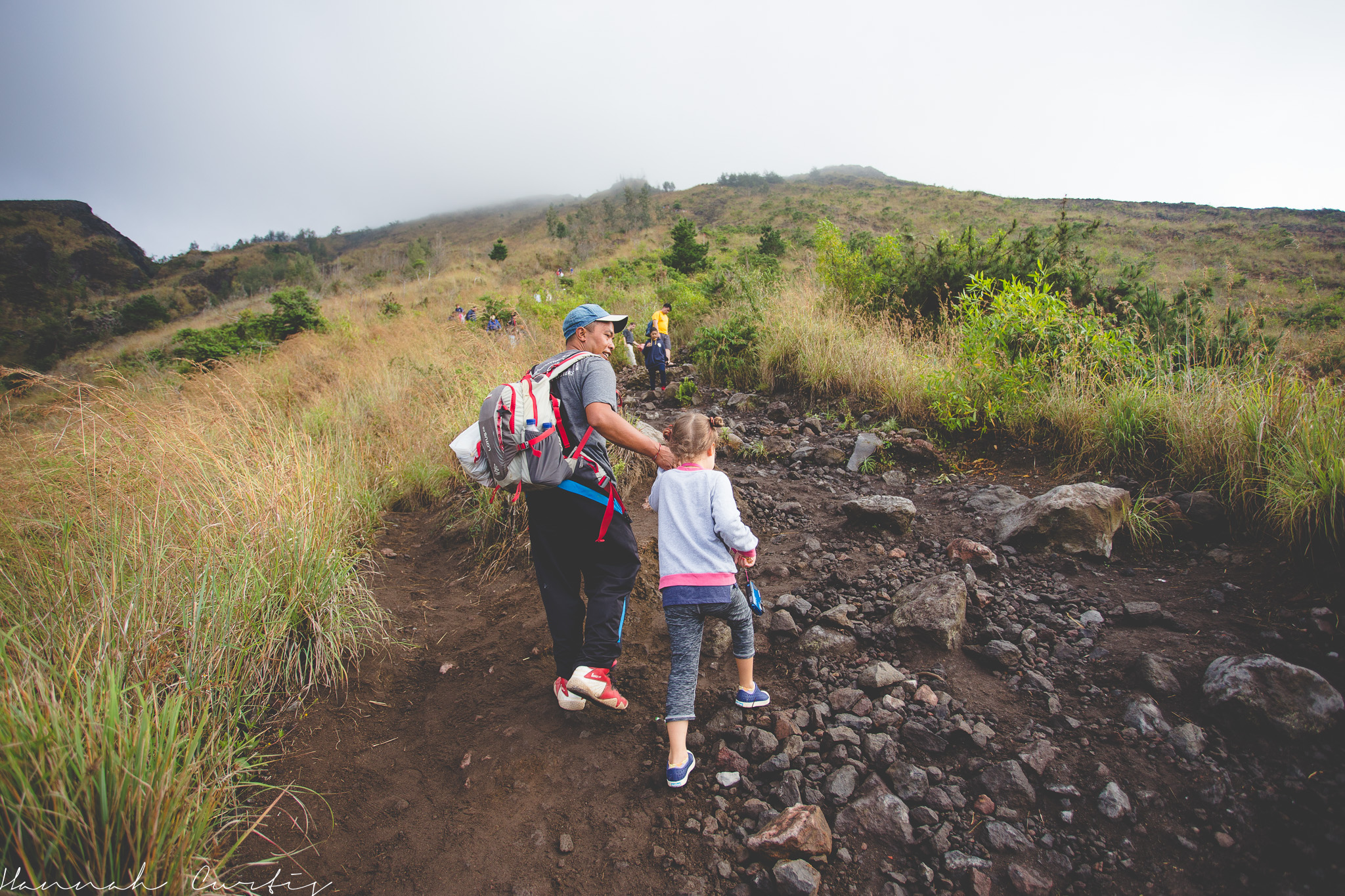 Climbing Mt Batur, Bali | Indonesia [with kids]