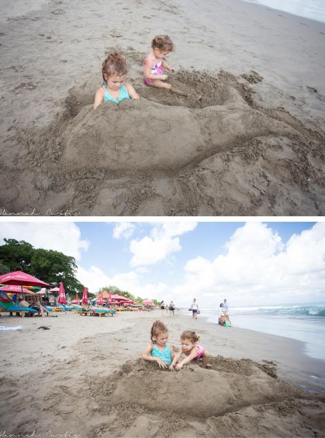 Matt turned Eden into a mermaid!